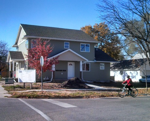 New 4-plex at 231 S. Kellogg