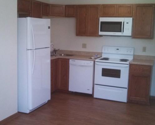 Another kitchen in the 4-plex